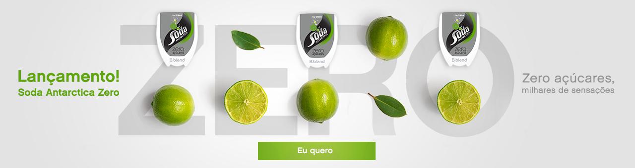 Lançamento Soda Zero