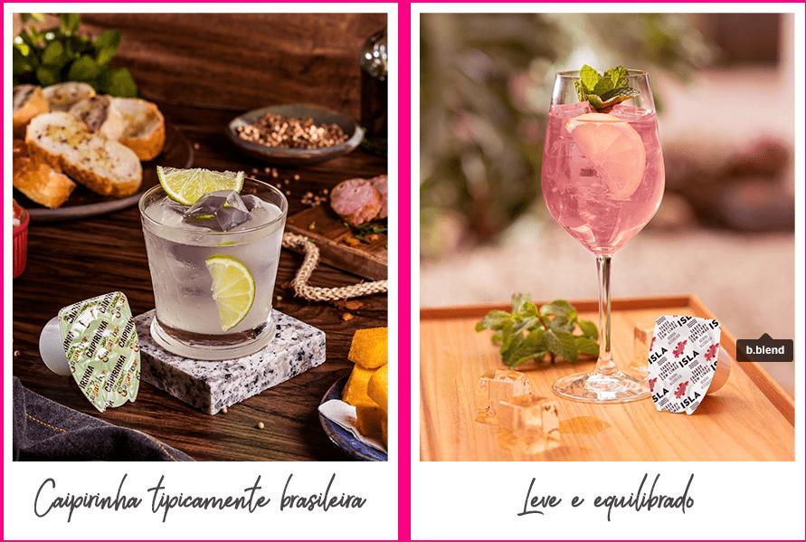 Brinde com a gente e compartilhe com #drinksbblend